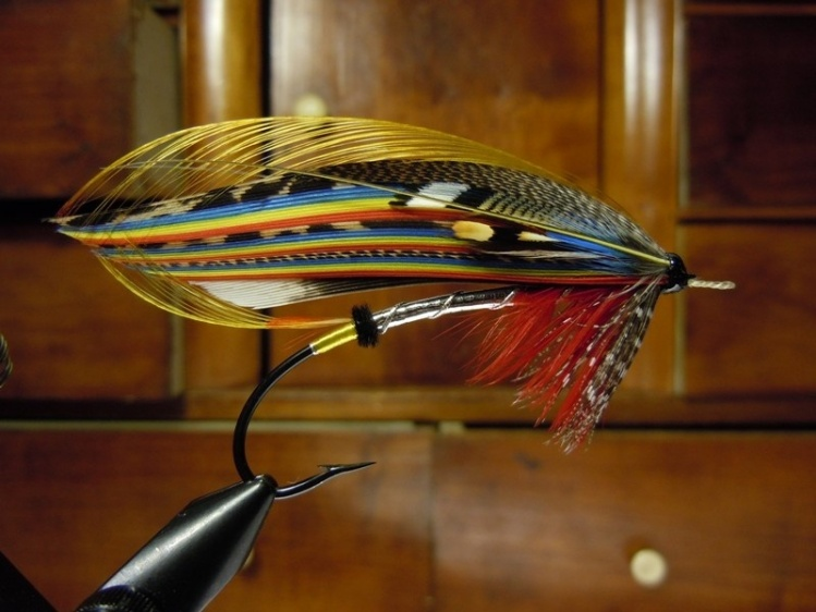 Red Drummond - Classic Atlantic Salmon Fly by Sven Axelsson Classic Atlantic Salmon Fly Patterns
