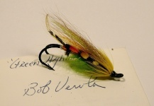 Hairwing Green Highlander tied by Bob Veverka - Fly dreamers