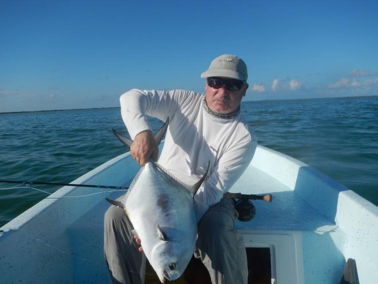Fotograf a de pesca con mosca de permit por carlos cortez for Mexican fishing license