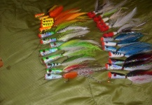 Fly-tying for Peacock Bass - Pic shared by Juan Gonzalez – Fly dreamers