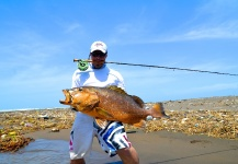 Mikko Hautanen 's Fly-fishing Pic of a Cubera snapper – Fly dreamers