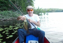 Thom Bishop Jr. 's Fly-fishing Pic of a Crappie – Fly dreamers