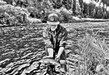 Sam Brost-Turner 's Fly-fishing Photo of a Whitefish – Fly dreamers