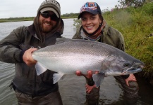 Scott Marr 's Fly-fishing Picture of a Silver salmon – Fly dreamers