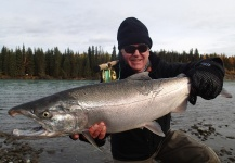 Bill Fowler 's Fly-fishing Photo of a Silver salmon – Fly dreamers