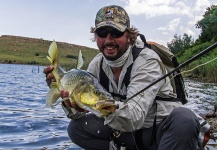 Gerhard Laubscher 's Fly-fishing Photo of a Yellowfish – Fly dreamers