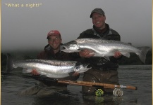 Fly-fishing Picture of Silver salmon shared by Alexander Knecht – Fly dreamers