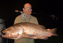 Fly-fishing Picture of Cubera snapper shared by Francois GEORGES – Fly dreamers