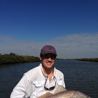 Big Louisiana redfish.