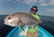 Taylor Brown 's Fly-fishing Pic of a Amberjack – Fly dreamers