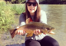 Bekah Sapp 's Fly-fishing Photo of a Brown trout – Fly dreamers