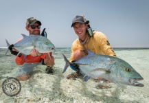 Tourette Fishing 's Fly-fishing Picture of a Bluefin trevally – Fly dreamers