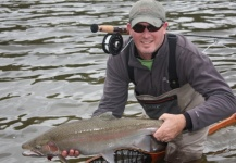 Fly-fishing Situation of Steelhead - Picture shared by Tyler Dunsmore – Fly dreamers