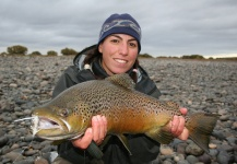 Fly-fishing Photo of Brown trout shared by Giselle Fontanazza Hansen – Fly dreamers