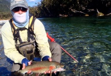 Rainbow trout Fly-fishing Situation – Brendan Shields   ( Guide ) shared this Photo in Fly dreamers