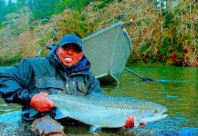 Lael Johnson 's Fly-fishing Image of a Steelhead – Fly dreamers