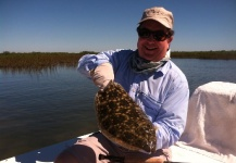 Fly-fishing Photo of Flounder shared by Capt. Brent Hodges – Fly dreamers