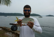 Great Fly-fishing Situation of Jacks shared by Gilberto Almeida