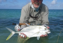 Fly-fishing Picture of Trevally - Brassy shared by Douglas I. D. McLean – Fly dreamers