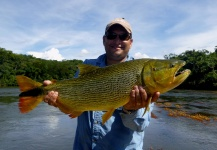 Mau Velho 's Fly-fishing Photo of a Tiger of the River – Fly dreamers