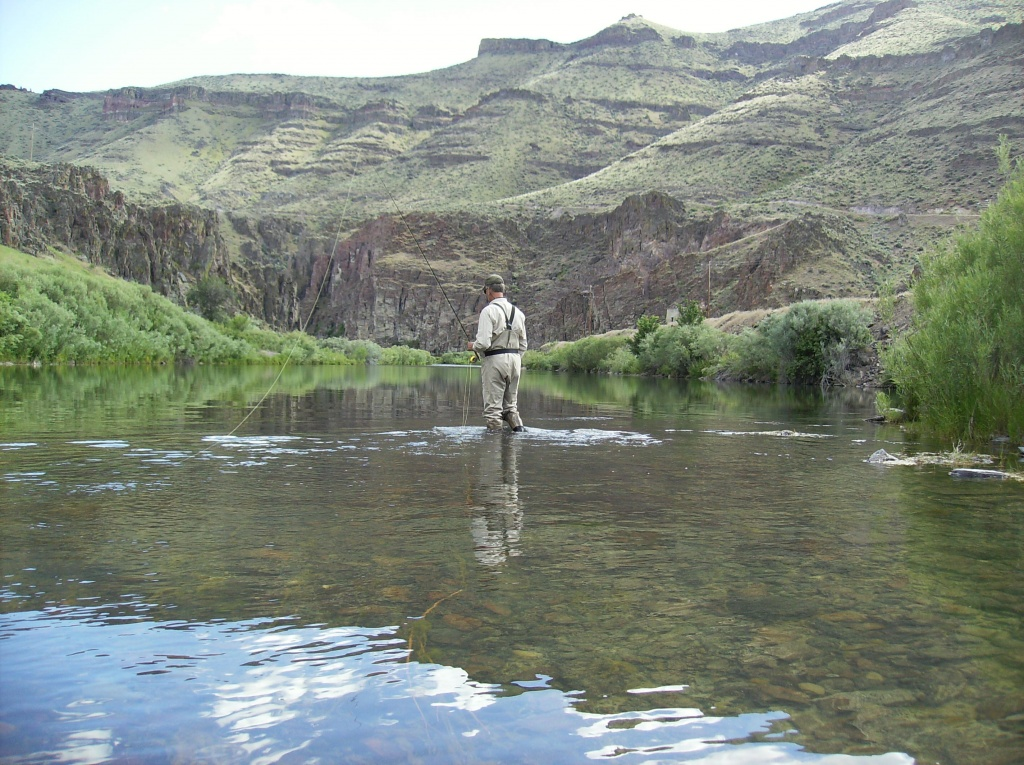 Bottorff guide service llc fly fishing outfitter fly for Owyhee river fly fishing
