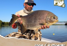 Kid Ocelos 's Fly-fishing Catch of a Pacu – Fly dreamers