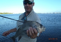 Fly-fishing Pic of Black Drum shared by David Bullard – Fly dreamers
