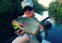 Fly-fishing Picture of Pacu shared by Thiago Carrano – Fly dreamers