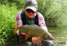 Unica (one of Europe's best grayling and brown trout river) ... Fly fishing in Slovenia