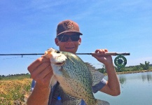 Fly-fishing Photo of speckled bass shared by Max Sisson – Fly dreamers