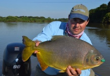Andes Drifters 's Fly-fishing Photo of a Pacu – Fly dreamers