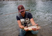 Fly-fishing Image of Fine Spotted Cutthroat shared by Luke Metherell – Fly dreamers