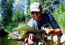 Luke Metherell 's Fly-fishing Catch of a Chum salmon – Fly dreamers