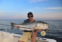 Taylor Brown 's Fly-fishing Pic of a Striper – Fly dreamers