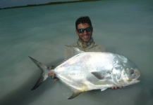 Gilberto Almeida 's Fly-fishing Picture of a Permit – Fly dreamers