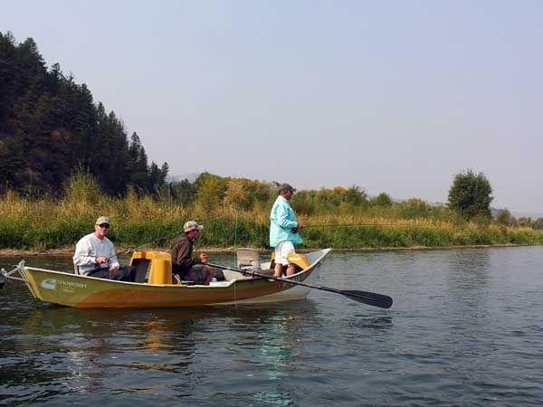 The lodge at palisades creek fly fishing lodge fly for Idaho fly fishing lodges