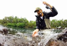 Rainbow trout Fly-fishing Situation – Felipe Alejandro Alvarez Romero shared this Image in Fly dreamers