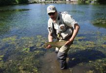 Rainbow trout Fly-fishing Situation – Cyr Wyart shared this Image in Fly dreamers