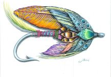 Silas Beck's Great Fly-fishing Art Photo – Fly dreamers