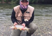 Salmo fario Fly-fishing Situation – Magdalena Aragon shared this Pic in Fly dreamers