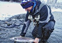 Luke Metherell 's Fly-fishing Photo of a Coho salmon – Fly dreamers