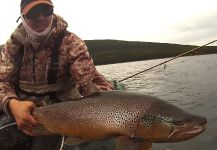 Chasing big browns at The heart of Tierra del Fuego