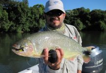 Luiz Logo 's Fly-fishing Catch of a Pira Pita – Fly dreamers