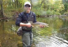 Fly-fishing Image of landlocked atlantic salmon shared by Kevin Lambertson – Fly dreamers