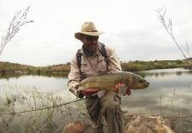 Oliver Otto 's Fly-fishing Photo of a Yellowfish – Fly dreamers