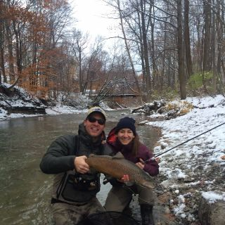10 pound New York lake run brown trout