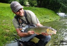 Chub Fly-fishing Situation – Uros Kristan shared this Sweet Image in Fly dreamers
