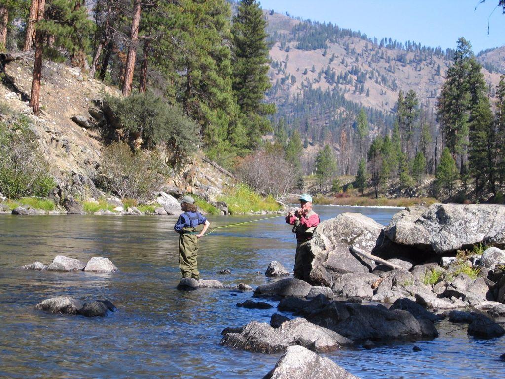 Wapiti meadow ranch fly fishing lodge fly dreamers for Idaho fly fishing lodges