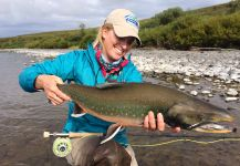 Fly-fishing Picture of Dolly Varden shared by Bristol Bay Lodge Lodge | Fly dreamers