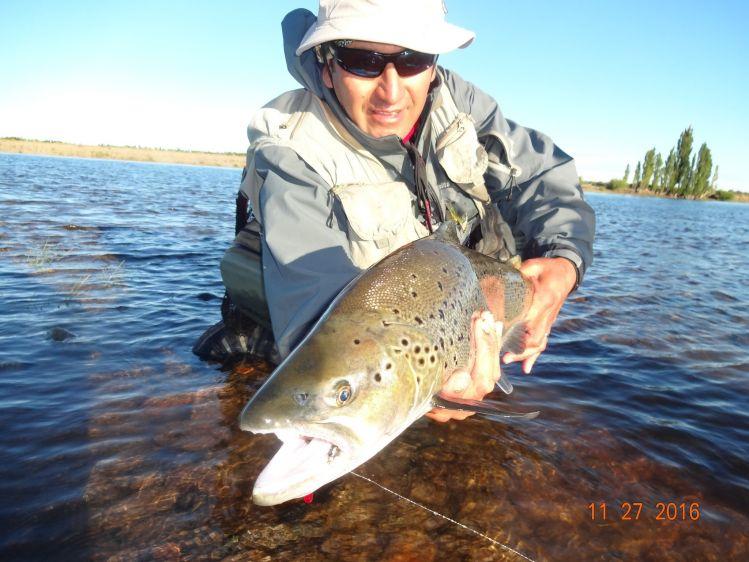 Reporte de Pesca: Limay medio por Fabian Espinoza ...